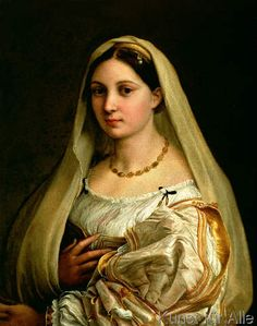 Raphael - The Veiled Woman, or La Donna Velata, c.1516