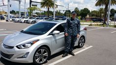 """Aaron Glisson saw an ad on TV and decided to drive by. Here's what he had to say about his exceptional experience with our salesman, Elvis Sulfridge, """"He was an awesome sales person! I would come back just for him!"""" Thank you Aaron for your service and business! We hope that you are enjoying your brand new 2015 Hyundai Elantra and we can't wait to see you again! If there's anything we can do, don't hesitate to ask… we're here to help! #LakelandHyundai #LakelandAutomall #2015Elantra #Hyundai"""
