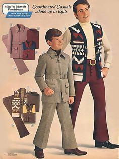 1971 ... mixnmatchcoordinatedcasualknits! |\