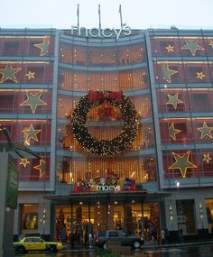 Christmastime at Macy's Union Square