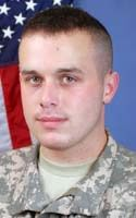 Army Spc. Stephen R. Fortunato  Died October 14, 2008 Serving During Operation Enduring Freedom  25, of Danvers, Mass.; assigned to the 1st Battalion, 26th Infantry Regiment, 3rd Brigade Combat Team, 1st Infantry Division, Fort Hood, Texas; died Oct. 14 of wounds suffered when his vehicle encountered an improvised explosive device in Qazi Bandeh, Afghanistan.