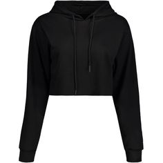 Drawstring Crop Hoodie ($15) ❤ liked on Polyvore featuring tops, hoodies, hooded sweatshirt, drawstring hooded pullover, hoodie top, sweatshirt hoodies and hoodie crop top