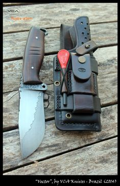 "Série ""Vector"" Bushcraft Knives, Tactical Knives, Tactical Gear, Bushcraft Camping, Cool Knives, Knives And Tools, Knives And Swords, Survival Knife, Survival Gear"