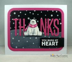 MFT Polar Pals Thanks card