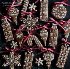 Christmas cookies by Mintlemonade