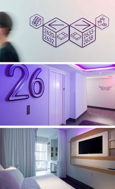 yotel · capsule hotel · branding and signage ::: by GBH · gregory bonnerhale
