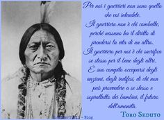 TuttoPerTutti: TORO SEDUTO - Tȟatȟaŋka Iyotȟaŋka (Grand River, 1831 – Fort Yates, 15 dicembre 1890)... One Day Quotes, Quote Of The Day, Best Quotes, Sacred Spirit, Dances With Wolves, Quotes Thoughts, Dalai Lama, Native American Indians, Picture Quotes