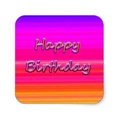 Happy Birthday  Sticker - birthday gifts party celebration custom gift ideas diy