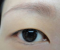 "You may get ""the droopy eye effect."" 