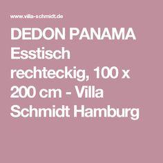 Hochwertig DEDON PANAMA Esstisch Rechteckig, 100 X 200 Cm   Villa Schmidt Hamburg