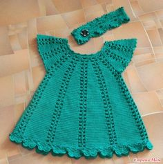 Crochet Baby Dress/ Shells and No pattern, but I can probably figure it out. This Pin was discovered by Dol Knit Lilly Rose Dress pattern by Taiga Hilliard Pin by Olga Henerhard on Stricken Crochet Toddler, Baby Girl Crochet, Crochet Baby Clothes, Crochet For Kids, Baby Dress Patterns, Baby Knitting Patterns, Crochet Patterns, Crochet Stitches, Knit Crochet
