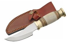 Szco Supplies Cavalier Bone Handle Hunting Knife White * You can find out more details at the link of the image.Note:It is affiliate link to Amazon.
