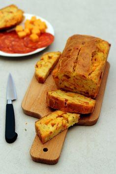 Cake au cheddar et chorizo