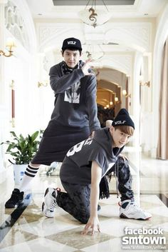 Chanyeol and Chen - EXO