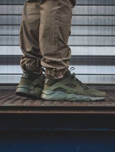 Nike Air Huarache Ultra: Olive