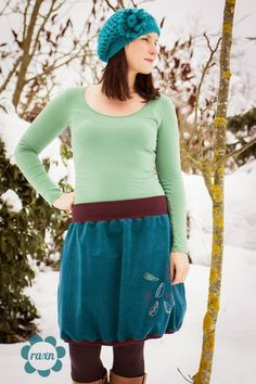 raxn: Helma Rock - pattern by farbenmix.de #LilaLotta #Huups #Maribell #nähen #sewing