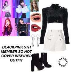 189 Likes, 4 Comments - Blackpink🌸 Kpop Fashion Outfits, Blackpink Fashion, Hip Hop Outfits, Stage Outfits, Girly Outfits, Korean Outfits, Dance Outfits, Trendy Outfits, Cute Outfits