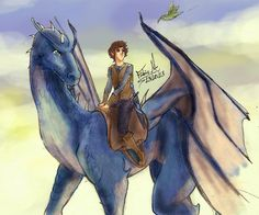 Eragon and Saphira by Fabio-mikk on @DeviantArt