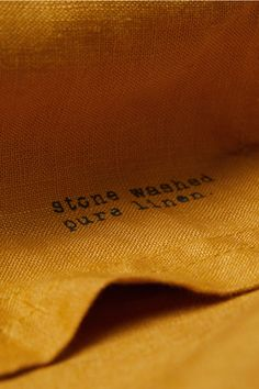 Duk i vasket lin - Mørk gul - Home All Large Tablecloths, Linen Tablecloth, Linen Fabric, Oxford Shoes, Adventure, Fashion, Moda, Fashion Styles, Burlap Tablecloth