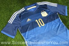 Argentina 2014 Away Jersey Review
