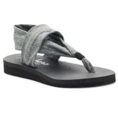 Skechers Meditation Women's Thong Sandals LOOK so comfortable, beach shoe maybe?  @ Kohls.com