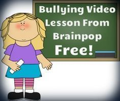 Great video to teach children about different types of bullying  and how to deal with bullies in an effective and safe manner! Graphics from www.mycutegraphics.com
