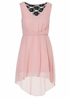 little pink dress with lace on the back. €29.99