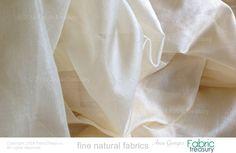 Pure Silk Fabric Yardage. Ahimsa Peace Silk. by FabricTreasury