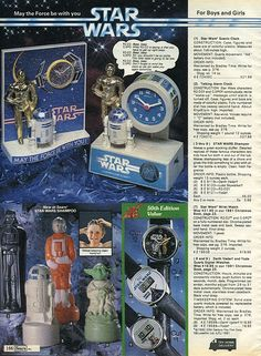 Star Wars Empire Strikes Back 1982-xx-xx Sears Christmas Catalog P166