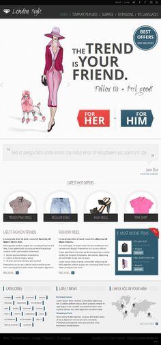 JM-Fashion Trends Clothing Garments Classifieds Portal Joomla Template