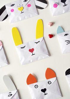 DIY Envelopes for Pen Pals