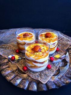 Gulab Jamun Dessert Parfait - Royal Diwali Treat : A luscious yet healthy Diwali dessert recipe made using gulab jamun, yogurt, cream and lots of love.
