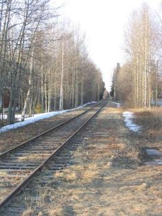 Hietasaari Railroad Tracks, Finland, Train Tracks