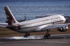 Foto de Qatar Airways A333 (A7-ACE) ✈ FlightAware