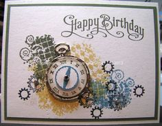 stampin'+up+clockworks | Stampin' Up! Clockworks and Perfectly Penned