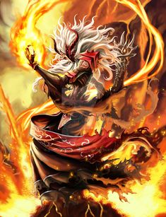 Tutthoyee-The Flame Shooter by Gandharvasstudio.deviantart.com on @DeviantArt