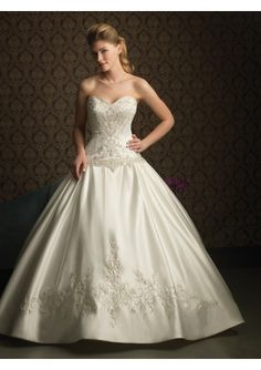 Satin Wedding Dress Ideas