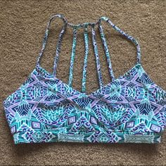 Caged Back Bralette So cute for summer! Only worn a few times. *not urban (it's pacsun) listed for exposure Urban Outfitters Intimates & Sleepwear Bandeaus