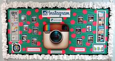 With school back in full swing, it was time to change our back to school bulletin board with something more current. With Instagram favored by teens over Facebook and Twitter as their most importan...