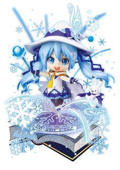 ねんどろいど 雪ミク Magical Snow Ver. #figure #hatsunemiku