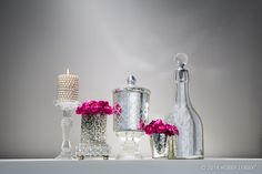 Gorgeous. Glamorous. Grand. When you want all that and more, you want perfectly imperfect mercury glass-inspired accessories. Arrange a few pieces on the mantel, in the guest bedroom or on your holiday table, and you've got wow factor style in minutes.
