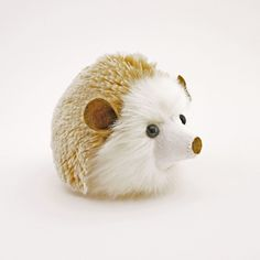 Mimi the Tan Hedgehog Stuffed Animal Plush Toy angled view. Softies, Plushies, Hedgehog Craft, Pom Pom Crafts, Kawaii, Sewing Toys, Pet Toys, Animals And Pets, Gifts For Kids