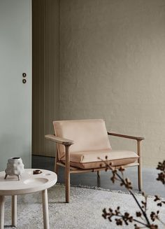 This chair (and this space) is just calling for a quiet moment!