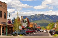Ahh how wonderful to stumble upon this while scrolling random pages! Whitefish, Montana. My drive into work every morning last summer:))