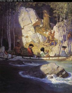 N.C. Wyeth - amazing artist and illustrator!