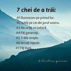 7 keys to living.- 7 chei de a trai. 7 keys to living. Biblical Quotes, Bible Verses, Words For Girlfriend, Girl God, Christian Verses, Faith In Love, God Loves Me, True Words, Trust God