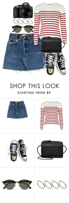 """Untitled #6125"" by rachellouisewilliamson ❤ liked on Polyvore featuring Topshop, Victoria's Secret, Building Block, Ray-Ban, ASOS and Nikon"
