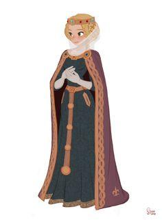 Robin Hood 2015 - Queen by Hong Soonsang Female Character Design, Character Design References, Character Drawing, Character Design Inspiration, Character Illustration, Character Concept, Concept Art, Illustration Art, Fantasy Characters