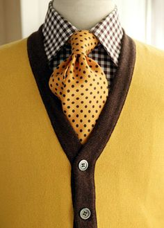 Yellow, Polka dots, checkered