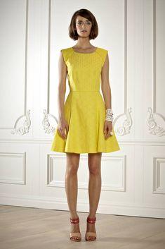 I´m not afraid of Yellow....(Rachel Roy - Pasarela)
